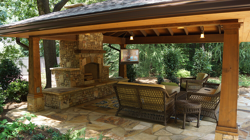 Tampa Outdoor Kitchen Company Outdoor Fireplaces Living